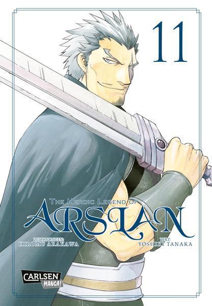 The Heroic Legend of Arslan 11 (Mängelexemplar)