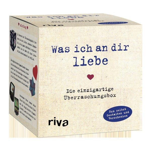 Was ich an dir liebe – Die einzigartige Überraschungsbox - Zum Selbstgestalten und Verschenken
