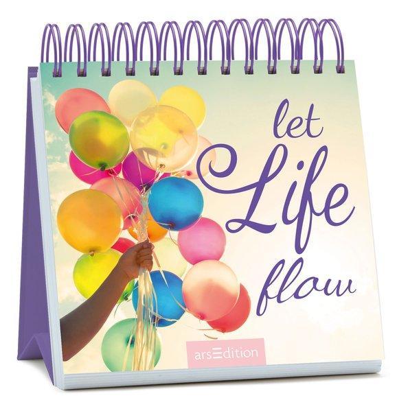 Let life flow - Spiralaufsteller