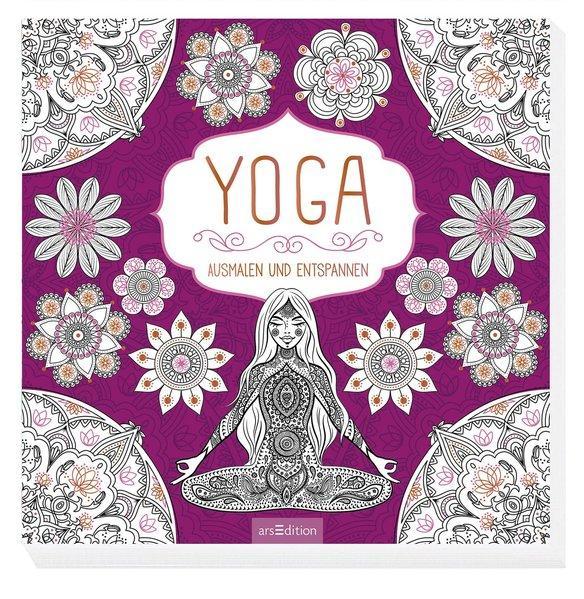 Yoga: Ausmalen und Entspannen