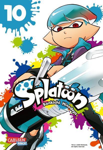 Splatoon 10 - Das Nintendo-Game als Manga! Ideal für Kinder und Gamer! (Mängelexemplar)
