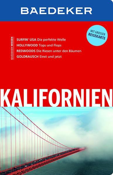Baedeker Reiseführer Kalifornien - mit GROSSER REISEKARTE (Mängelexemplar)