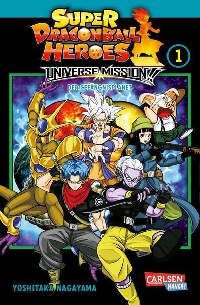 Super Dragon Ball Heroes Universe Mission 1 - Universe Mission (Mängelexemplar)