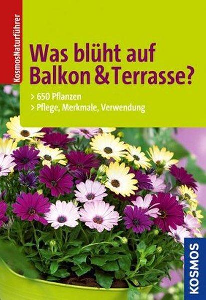 Was blüht auf Balkon & Terrasse? 650 Pflanzen: Pflege, Merkmale, Verwendung