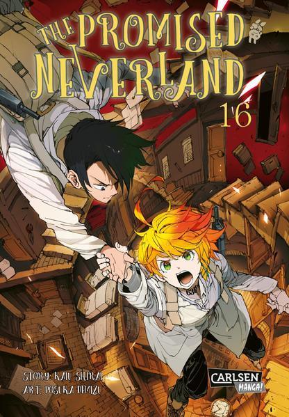 The Promised Neverland 16 - Ein emotionales Mystery-Horror-Spektakel! (Mängelexemplar)
