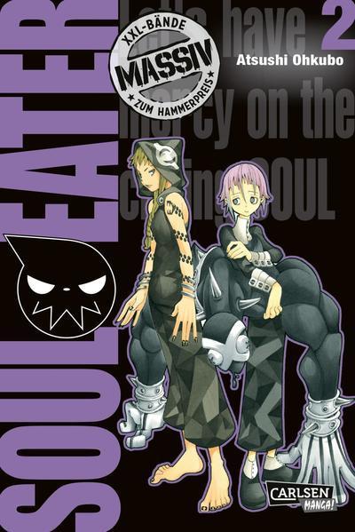Soul Eater Massiv 2 - Die Originalserie als umfangreiche Sammelbandausgabe! (Mängelexemplar)