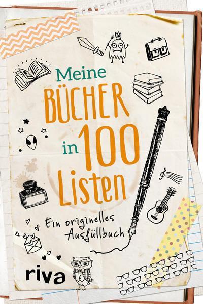 Meine Bücher in 100 Listen - Ein originelles Ausfüllbuch (Mängelexemplar)