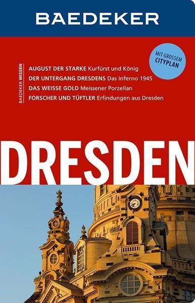 Baedeker Reiseführer Dresden - mit GROSSEM CITYPLAN (Mängelexemplar)