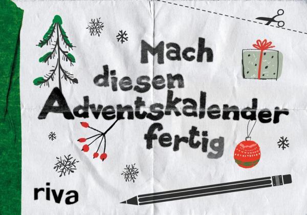 Mach diesen Adventskalender fertig (Mängelexemplar)