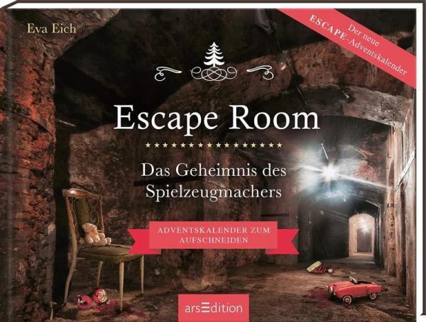 Escape Room. Das Geheimnis des Spielzeugmachers (Mängelexemplar)