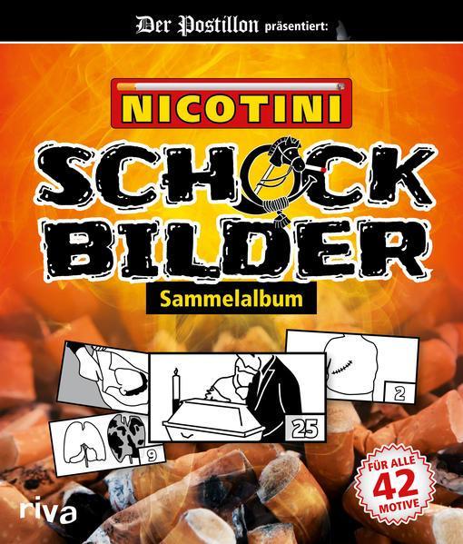 Nicotini - Schockbilder-Sammelalbum (Mängelexemplar)