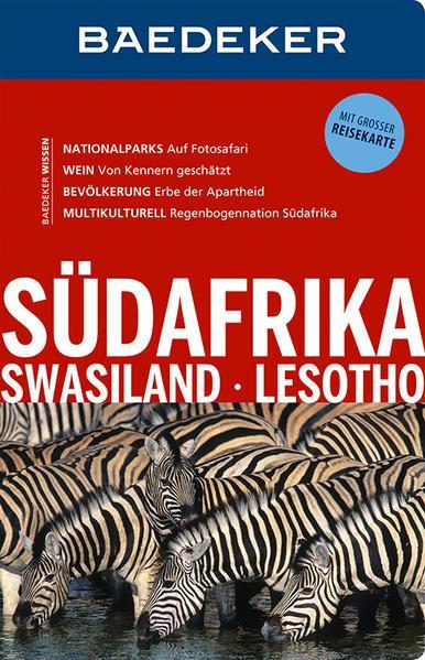 Baedeker Reiseführer Südafrika, Swasiland, Lesotho - mit REISEKARTE (Mängelexemplar)