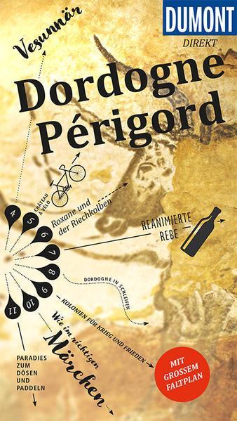 DuMont direkt Reiseführer Dordogne, Périgord - Mit großem Faltplan (Mängelexemplar)